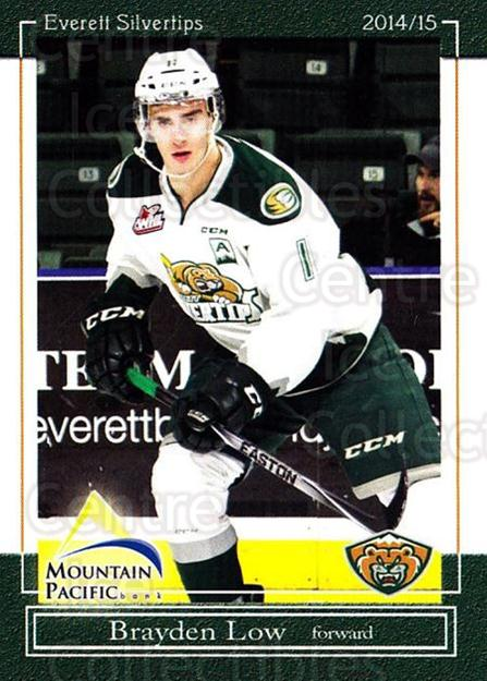 <a href=index.aspx?SetName=2014-15%20Everett%20Silvertips>2014-15 Everett Silvertips</a> #3 <a href=index.aspx?PlayerName=Brayden%20Low> Brayden Low</a><br/>14 in stock - $3.00 each - <a href=https://centericecollectibles.foxycart.com/cart?name=2014-15%20Everett%20Silvertips%20%233%20Brayden%20Low...&price=$3.00&code=700671 class=foxycart> Buy it now! </a>