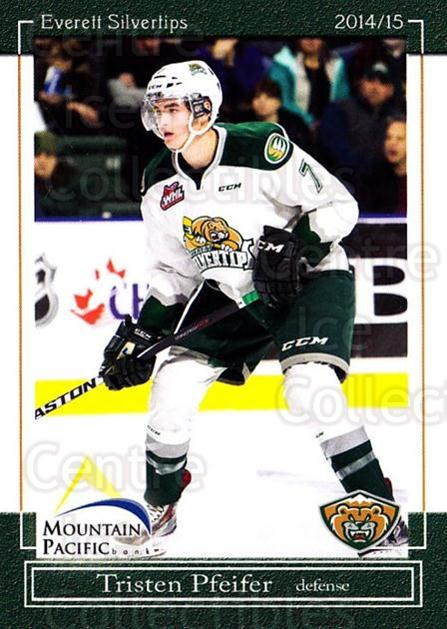 2014-15 Everett Silvertips #5 Tristen Pfeifer<br/>14 In Stock - $3.00 each - <a href=https://centericecollectibles.foxycart.com/cart?name=2014-15%20Everett%20Silvertips%20%235%20Tristen%20Pfeifer...&price=$3.00&code=700673 class=foxycart> Buy it now! </a>