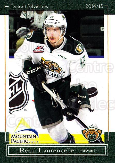 2014-15 Everett Silvertips #8 Remi Laurencelle<br/>14 In Stock - $3.00 each - <a href=https://centericecollectibles.foxycart.com/cart?name=2014-15%20Everett%20Silvertips%20%238%20Remi%20Laurencell...&price=$3.00&code=700676 class=foxycart> Buy it now! </a>