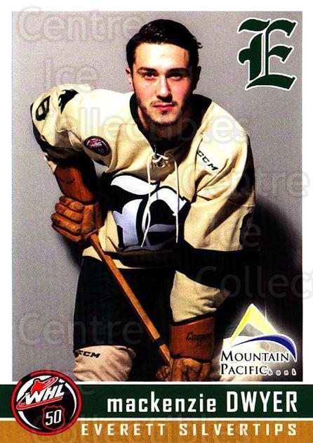 2015-16 Everett Silvertips #5 Mackenzie Dwyer<br/>4 In Stock - $3.00 each - <a href=https://centericecollectibles.foxycart.com/cart?name=2015-16%20Everett%20Silvertips%20%235%20Mackenzie%20Dwyer...&price=$3.00&code=700698 class=foxycart> Buy it now! </a>