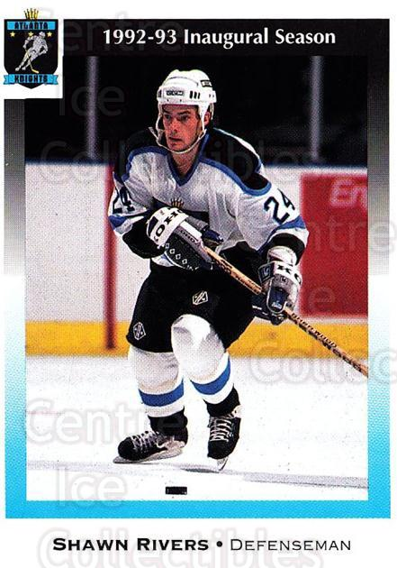 1992-93 Atlanta Knights #16 Shawn Rivers<br/>1 In Stock - $3.00 each - <a href=https://centericecollectibles.foxycart.com/cart?name=1992-93%20Atlanta%20Knights%20%2316%20Shawn%20Rivers...&price=$3.00&code=700734 class=foxycart> Buy it now! </a>