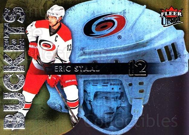 2014-15 Ultra Buckets #6 Eric Staal<br/>4 In Stock - $2.00 each - <a href=https://centericecollectibles.foxycart.com/cart?name=2014-15%20Ultra%20Buckets%20%236%20Eric%20Staal...&quantity_max=4&price=$2.00&code=701030 class=foxycart> Buy it now! </a>