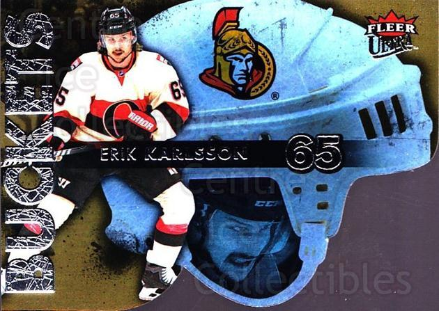 2014-15 Ultra Buckets #21 Erik Karlsson<br/>3 In Stock - $2.00 each - <a href=https://centericecollectibles.foxycart.com/cart?name=2014-15%20Ultra%20Buckets%20%2321%20Erik%20Karlsson...&quantity_max=3&price=$2.00&code=701045 class=foxycart> Buy it now! </a>