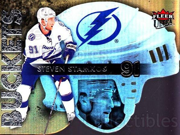 2014-15 Ultra Buckets #26 Steven Stamkos<br/>4 In Stock - $3.00 each - <a href=https://centericecollectibles.foxycart.com/cart?name=2014-15%20Ultra%20Buckets%20%2326%20Steven%20Stamkos...&price=$3.00&code=701050 class=foxycart> Buy it now! </a>