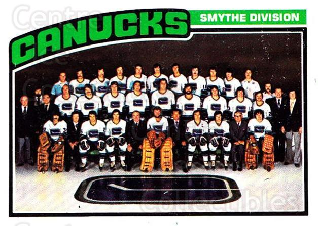 1976-77 O-Pee-Chee #148 Vancouver Canucks, Checklist<br/>1 In Stock - $5.00 each - <a href=https://centericecollectibles.foxycart.com/cart?name=1976-77%20O-Pee-Chee%20%23148%20Vancouver%20Canuc...&quantity_max=1&price=$5.00&code=701254 class=foxycart> Buy it now! </a>