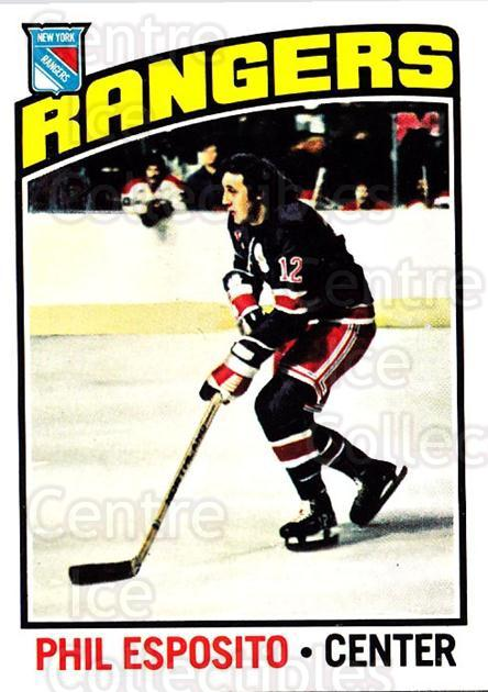 1976-77 O-Pee-Chee #245 Phil Esposito<br/>2 In Stock - $10.00 each - <a href=https://centericecollectibles.foxycart.com/cart?name=1976-77%20O-Pee-Chee%20%23245%20Phil%20Esposito...&quantity_max=2&price=$10.00&code=701351 class=foxycart> Buy it now! </a>
