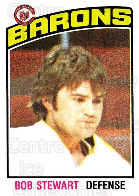 1976-77 O-Pee-Chee #291 Bob Stewart<br/>2 In Stock - $2.00 each - <a href=https://centericecollectibles.foxycart.com/cart?name=1976-77%20O-Pee-Chee%20%23291%20Bob%20Stewart...&price=$2.00&code=701397 class=foxycart> Buy it now! </a>