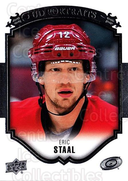 2015-16 Upper Deck UD Portraits #12 Eric Staal<br/>3 In Stock - $2.00 each - <a href=https://centericecollectibles.foxycart.com/cart?name=2015-16%20Upper%20Deck%20UD%20Portraits%20%2312%20Eric%20Staal...&quantity_max=3&price=$2.00&code=701514 class=foxycart> Buy it now! </a>