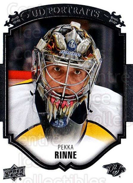 2015-16 Upper Deck UD Portraits #17 Pekka Rinne<br/>2 In Stock - $2.00 each - <a href=https://centericecollectibles.foxycart.com/cart?name=2015-16%20Upper%20Deck%20UD%20Portraits%20%2317%20Pekka%20Rinne...&quantity_max=2&price=$2.00&code=701519 class=foxycart> Buy it now! </a>