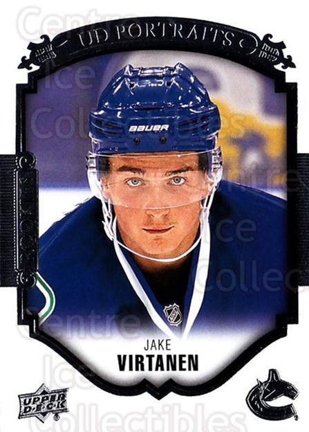 2015-16 Upper Deck UD Portraits #83 Jake Virtanen<br/>8 In Stock - $3.00 each - <a href=https://centericecollectibles.foxycart.com/cart?name=2015-16%20Upper%20Deck%20UD%20Portraits%20%2383%20Jake%20Virtanen...&quantity_max=8&price=$3.00&code=701585 class=foxycart> Buy it now! </a>