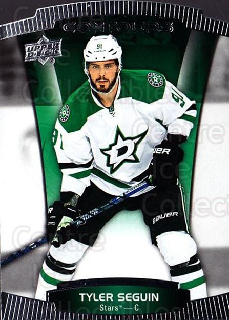 2015-16 Upper Deck Contours #40 Tyler Seguin<br/>6 In Stock - $2.00 each - <a href=https://centericecollectibles.foxycart.com/cart?name=2015-16%20Upper%20Deck%20Contours%20%2340%20Tyler%20Seguin...&quantity_max=6&price=$2.00&code=701796 class=foxycart> Buy it now! </a>