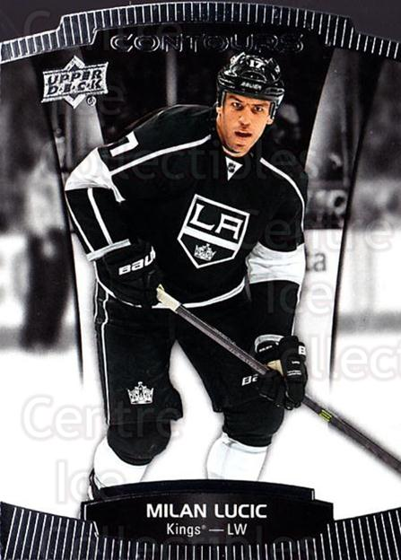 2015-16 Upper Deck Contours #58 Milan Lucic<br/>6 In Stock - $2.00 each - <a href=https://centericecollectibles.foxycart.com/cart?name=2015-16%20Upper%20Deck%20Contours%20%2358%20Milan%20Lucic...&quantity_max=6&price=$2.00&code=701814 class=foxycart> Buy it now! </a>