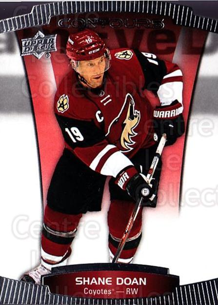 2015-16 Upper Deck Contours #81 Shane Doan<br/>6 In Stock - $2.00 each - <a href=https://centericecollectibles.foxycart.com/cart?name=2015-16%20Upper%20Deck%20Contours%20%2381%20Shane%20Doan...&quantity_max=6&price=$2.00&code=701837 class=foxycart> Buy it now! </a>