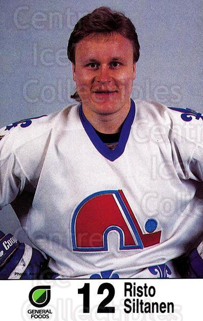 1985-86 Quebec Nordiques Postcards General Foods #31 Risto Siltanen<br/>1 In Stock - $5.00 each - <a href=https://centericecollectibles.foxycart.com/cart?name=1985-86%20Quebec%20Nordiques%20Postcards%20General%20Foods%20%2331%20Risto%20Siltanen...&price=$5.00&code=702119 class=foxycart> Buy it now! </a>