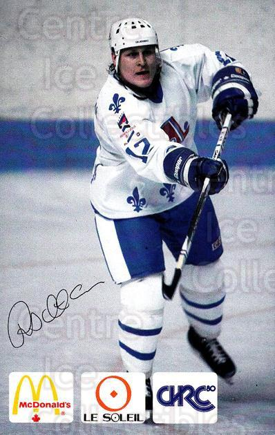 1985-86 Quebec Nordiques McDonalds B #27 Risto Siltanen<br/>1 In Stock - $5.00 each - <a href=https://centericecollectibles.foxycart.com/cart?name=1985-86%20Quebec%20Nordiques%20McDonalds%20B%20%2327%20Risto%20Siltanen...&price=$5.00&code=702150 class=foxycart> Buy it now! </a>