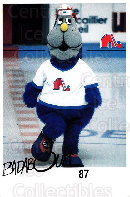 1988-89 Quebec Nordiques Team Issue #40 Mascot<br/>2 In Stock - $3.00 each - <a href=https://centericecollectibles.foxycart.com/cart?name=1988-89%20Quebec%20Nordiques%20Team%20Issue%20%2340%20Mascot...&quantity_max=2&price=$3.00&code=702179 class=foxycart> Buy it now! </a>