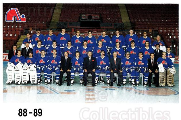 1988-89 Quebec Nordiques Team Issue #42 Quebec Nordiques, Team Photo<br/>2 In Stock - $5.00 each - <a href=https://centericecollectibles.foxycart.com/cart?name=1988-89%20Quebec%20Nordiques%20Team%20Issue%20%2342%20Quebec%20Nordique...&quantity_max=2&price=$5.00&code=702192 class=foxycart> Buy it now! </a>