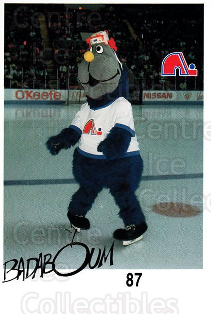 1988-89 Quebec Nordiques Team Issue #39 Mascot<br/>2 In Stock - $3.00 each - <a href=https://centericecollectibles.foxycart.com/cart?name=1988-89%20Quebec%20Nordiques%20Team%20Issue%20%2339%20Mascot...&quantity_max=2&price=$3.00&code=702210 class=foxycart> Buy it now! </a>