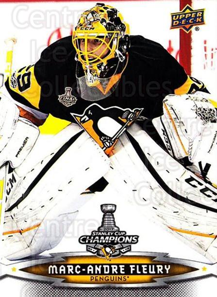 2017 Pittsburgh Penguins Stanley Cup Champions #7 Marc-Andre Fleury<br/>2 In Stock - $5.00 each - <a href=https://centericecollectibles.foxycart.com/cart?name=2017%20Pittsburgh%20Penguins%20Stanley%20Cup%20Champions%20%237%20Marc-Andre%20Fleu...&quantity_max=2&price=$5.00&code=702299 class=foxycart> Buy it now! </a>