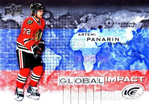 2015-16 UD Ice Global Impact #AP Artemi Panarin<br/>1 In Stock - $5.00 each - <a href=https://centericecollectibles.foxycart.com/cart?name=2015-16%20UD%20Ice%20Global%20Impact%20%23AP%20Artemi%20Panarin...&quantity_max=1&price=$5.00&code=702311 class=foxycart> Buy it now! </a>