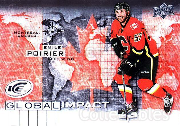 2015-16 UD Ice Global Impact #EP Emile Poirier<br/>1 In Stock - $3.00 each - <a href=https://centericecollectibles.foxycart.com/cart?name=2015-16%20UD%20Ice%20Global%20Impact%20%23EP%20Emile%20Poirier...&quantity_max=1&price=$3.00&code=702315 class=foxycart> Buy it now! </a>