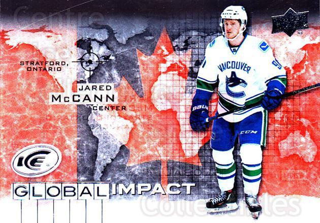 2015-16 UD Ice Global Impact #JM Jared McCann<br/>2 In Stock - $3.00 each - <a href=https://centericecollectibles.foxycart.com/cart?name=2015-16%20UD%20Ice%20Global%20Impact%20%23JM%20Jared%20McCann...&quantity_max=2&price=$3.00&code=702317 class=foxycart> Buy it now! </a>