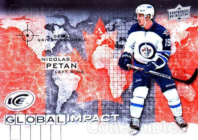 2015-16 UD Ice Global Impact #NP Nicolas Petan<br/>1 In Stock - $3.00 each - <a href=https://centericecollectibles.foxycart.com/cart?name=2015-16%20UD%20Ice%20Global%20Impact%20%23NP%20Nicolas%20Petan...&quantity_max=1&price=$3.00&code=702328 class=foxycart> Buy it now! </a>