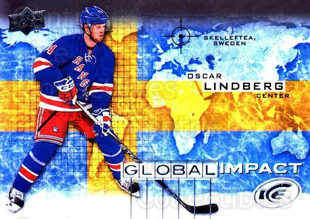 2015-16 UD Ice Global Impact #OL Oscar Lindberg<br/>1 In Stock - $3.00 each - <a href=https://centericecollectibles.foxycart.com/cart?name=2015-16%20UD%20Ice%20Global%20Impact%20%23OL%20Oscar%20Lindberg...&quantity_max=1&price=$3.00&code=702330 class=foxycart> Buy it now! </a>