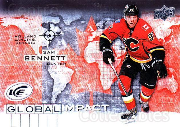 2015-16 UD Ice Global Impact #SB Sam Bennett<br/>2 In Stock - $3.00 each - <a href=https://centericecollectibles.foxycart.com/cart?name=2015-16%20UD%20Ice%20Global%20Impact%20%23SB%20Sam%20Bennett...&quantity_max=2&price=$3.00&code=702332 class=foxycart> Buy it now! </a>