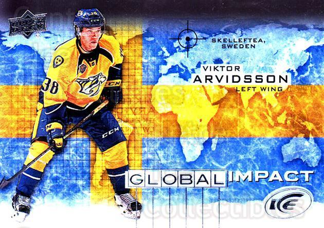 2015-16 UD Ice Global Impact #VA Viktor Arvidsson<br/>1 In Stock - $3.00 each - <a href=https://centericecollectibles.foxycart.com/cart?name=2015-16%20UD%20Ice%20Global%20Impact%20%23VA%20Viktor%20Arvidsso...&quantity_max=1&price=$3.00&code=702334 class=foxycart> Buy it now! </a>