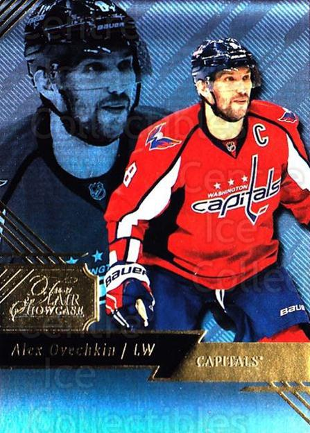2016-17 Fleer Showcase Flair #7 Alexander Ovechkin<br/>1 In Stock - $3.00 each - <a href=https://centericecollectibles.foxycart.com/cart?name=2016-17%20Fleer%20Showcase%20Flair%20%237%20Alexander%20Ovech...&price=$3.00&code=702342 class=foxycart> Buy it now! </a>