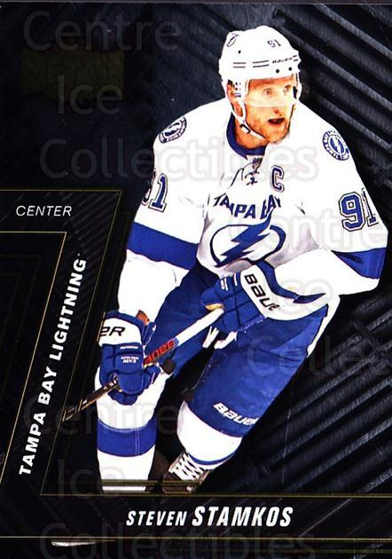 2016-17 Fleer Showcase Metal Universe #4 Steven Stamkos<br/>1 In Stock - $3.00 each - <a href=https://centericecollectibles.foxycart.com/cart?name=2016-17%20Fleer%20Showcase%20Metal%20Universe%20%234%20Steven%20Stamkos...&price=$3.00&code=702389 class=foxycart> Buy it now! </a>