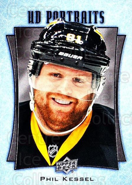 2016-17 Upper Deck UD Portraits #46 Phil Kessel<br/>2 In Stock - $2.00 each - <a href=https://centericecollectibles.foxycart.com/cart?name=2016-17%20Upper%20Deck%20UD%20Portraits%20%2346%20Phil%20Kessel...&quantity_max=2&price=$2.00&code=702481 class=foxycart> Buy it now! </a>