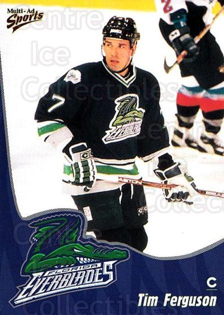 1998-99 Florida Everblades #6 Tim Ferguson<br/>1 In Stock - $3.00 each - <a href=https://centericecollectibles.foxycart.com/cart?name=1998-99%20Florida%20Everblades%20%236%20Tim%20Ferguson...&price=$3.00&code=702594 class=foxycart> Buy it now! </a>