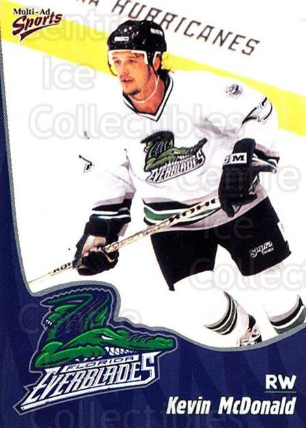 1998-99 Florida Everblades #13 Kevin McDonald<br/>1 In Stock - $3.00 each - <a href=https://centericecollectibles.foxycart.com/cart?name=1998-99%20Florida%20Everblades%20%2313%20Kevin%20McDonald...&price=$3.00&code=702601 class=foxycart> Buy it now! </a>