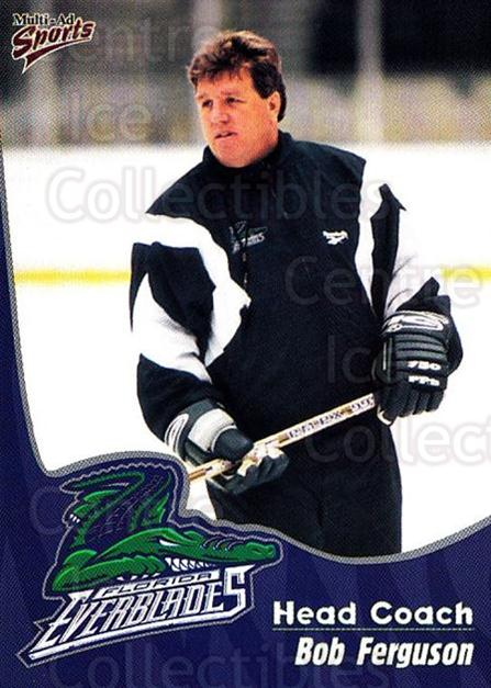 1998-99 Florida Everblades #24 Bob Ferguson<br/>1 In Stock - $3.00 each - <a href=https://centericecollectibles.foxycart.com/cart?name=1998-99%20Florida%20Everblades%20%2324%20Bob%20Ferguson...&price=$3.00&code=702612 class=foxycart> Buy it now! </a>