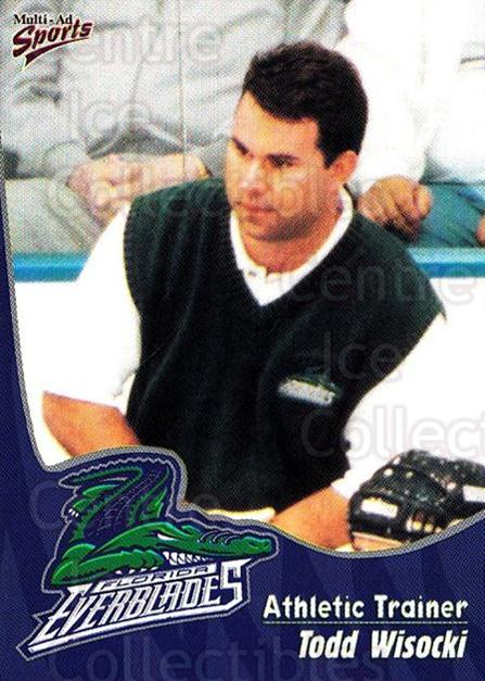 1998-99 Florida Everblades #26 Todd Wisocki<br/>1 In Stock - $3.00 each - <a href=https://centericecollectibles.foxycart.com/cart?name=1998-99%20Florida%20Everblades%20%2326%20Todd%20Wisocki...&price=$3.00&code=702614 class=foxycart> Buy it now! </a>