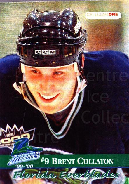 1999-00 Florida Everblades #7 Brent Cullaton<br/>1 In Stock - $3.00 each - <a href=https://centericecollectibles.foxycart.com/cart?name=1999-00%20Florida%20Everblades%20%237%20Brent%20Cullaton...&price=$3.00&code=702621 class=foxycart> Buy it now! </a>
