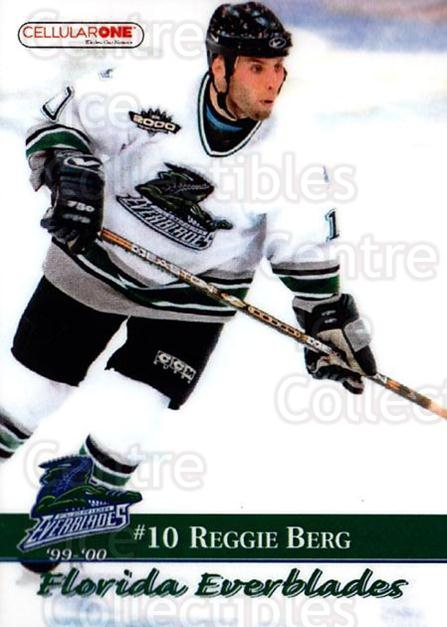 1999-00 Florida Everblades #8 Reggie Berg<br/>1 In Stock - $3.00 each - <a href=https://centericecollectibles.foxycart.com/cart?name=1999-00%20Florida%20Everblades%20%238%20Reggie%20Berg...&price=$3.00&code=702622 class=foxycart> Buy it now! </a>