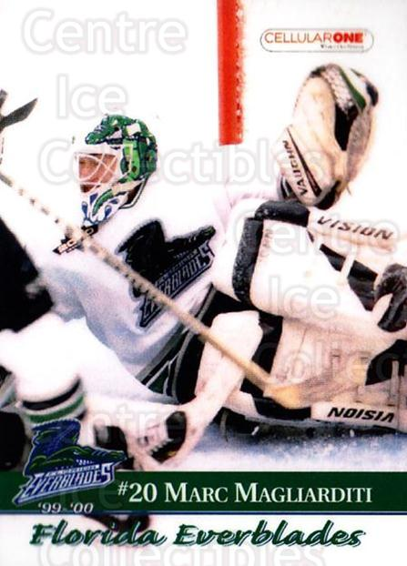 1999-00 Florida Everblades #15 Marc Magliarditi<br/>1 In Stock - $3.00 each - <a href=https://centericecollectibles.foxycart.com/cart?name=1999-00%20Florida%20Everblades%20%2315%20Marc%20Magliardit...&price=$3.00&code=702629 class=foxycart> Buy it now! </a>