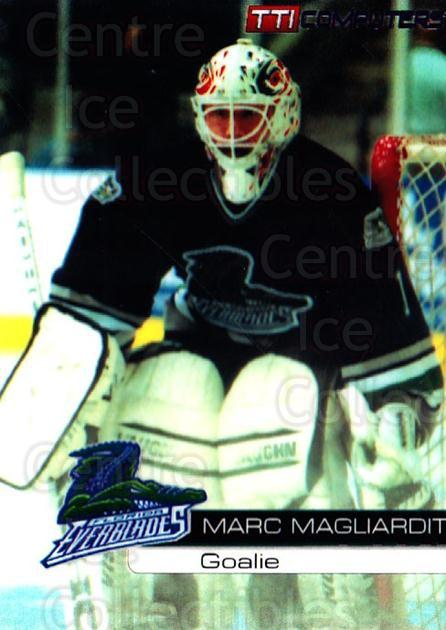 2000-01 Florida Everblades #1 Marc Magliarditi<br/>1 In Stock - $3.00 each - <a href=https://centericecollectibles.foxycart.com/cart?name=2000-01%20Florida%20Everblades%20%231%20Marc%20Magliardit...&price=$3.00&code=702640 class=foxycart> Buy it now! </a>