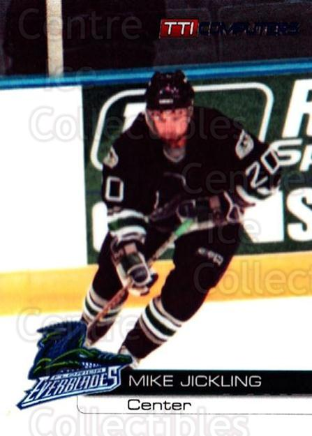 2000-01 Florida Everblades #15 Mike Jickling<br/>1 In Stock - $3.00 each - <a href=https://centericecollectibles.foxycart.com/cart?name=2000-01%20Florida%20Everblades%20%2315%20Mike%20Jickling...&price=$3.00&code=702654 class=foxycart> Buy it now! </a>