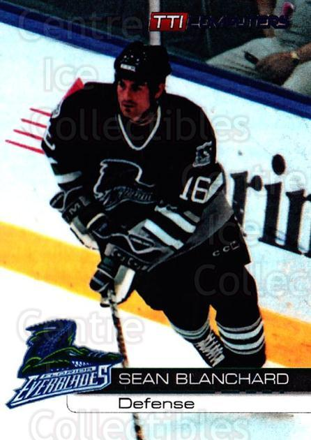 2000-01 Florida Everblades #17 Sean Blanchard<br/>1 In Stock - $3.00 each - <a href=https://centericecollectibles.foxycart.com/cart?name=2000-01%20Florida%20Everblades%20%2317%20Sean%20Blanchard...&price=$3.00&code=702656 class=foxycart> Buy it now! </a>
