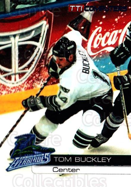 2000-01 Florida Everblades #24 Tom Buckley<br/>1 In Stock - $3.00 each - <a href=https://centericecollectibles.foxycart.com/cart?name=2000-01%20Florida%20Everblades%20%2324%20Tom%20Buckley...&price=$3.00&code=702663 class=foxycart> Buy it now! </a>