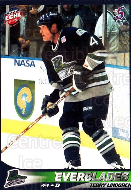2001-02 Florida Everblades #5 Terry Lindgren<br/>1 In Stock - $3.00 each - <a href=https://centericecollectibles.foxycart.com/cart?name=2001-02%20Florida%20Everblades%20%235%20Terry%20Lindgren...&price=$3.00&code=702669 class=foxycart> Buy it now! </a>