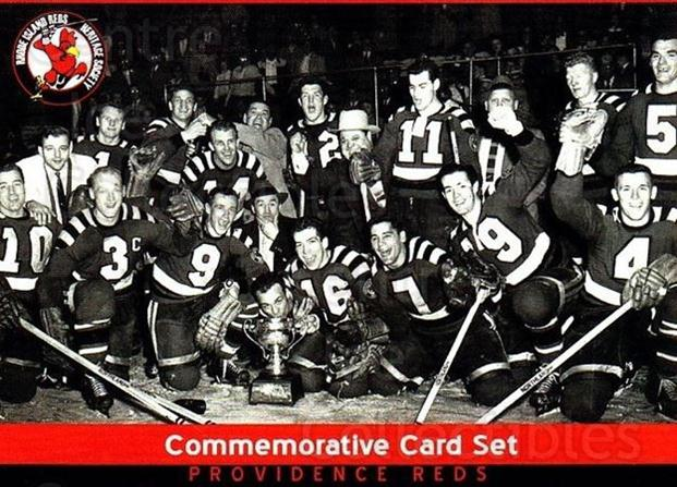 2015-16 Providence Reds 55-56 Commemorative #30 Team Photo<br/>2 In Stock - $3.00 each - <a href=https://centericecollectibles.foxycart.com/cart?name=2015-16%20Providence%20Reds%2055-56%20Commemorative%20%2330%20Team%20Photo...&quantity_max=2&price=$3.00&code=702820 class=foxycart> Buy it now! </a>