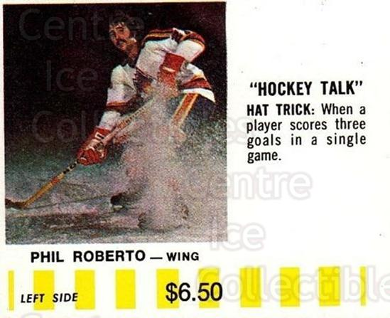 1976-77 Colorado Rockies Puck Bucks Yellow #18 Phil Roberto<br/>1 In Stock - $5.00 each - <a href=https://centericecollectibles.foxycart.com/cart?name=1976-77%20Colorado%20Rockies%20Puck%20Bucks%20Yellow%20%2318%20Phil%20Roberto...&quantity_max=1&price=$5.00&code=702981 class=foxycart> Buy it now! </a>
