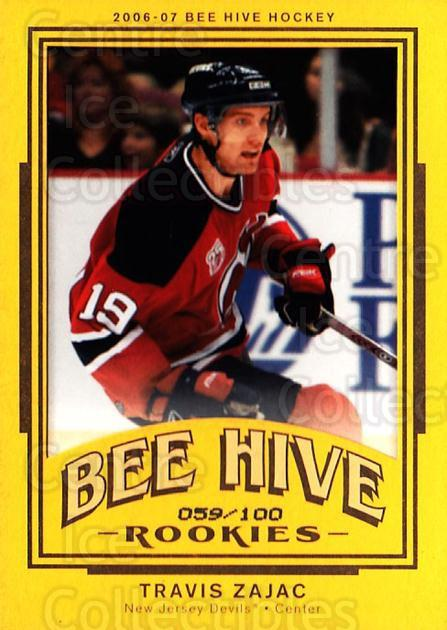 2006-07 Beehive Matte #133 Travis Zajac<br/>1 In Stock - $5.00 each - <a href=https://centericecollectibles.foxycart.com/cart?name=2006-07%20Beehive%20Matte%20%23133%20Travis%20Zajac...&quantity_max=1&price=$5.00&code=703151 class=foxycart> Buy it now! </a>