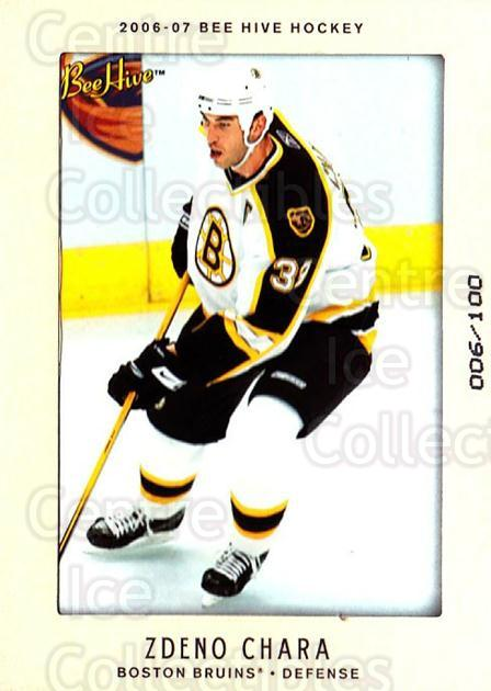 2006-07 Beehive Matte #94 Zdeno Chara<br/>1 In Stock - $5.00 each - <a href=https://centericecollectibles.foxycart.com/cart?name=2006-07%20Beehive%20Matte%20%2394%20Zdeno%20Chara...&quantity_max=1&price=$5.00&code=703254 class=foxycart> Buy it now! </a>