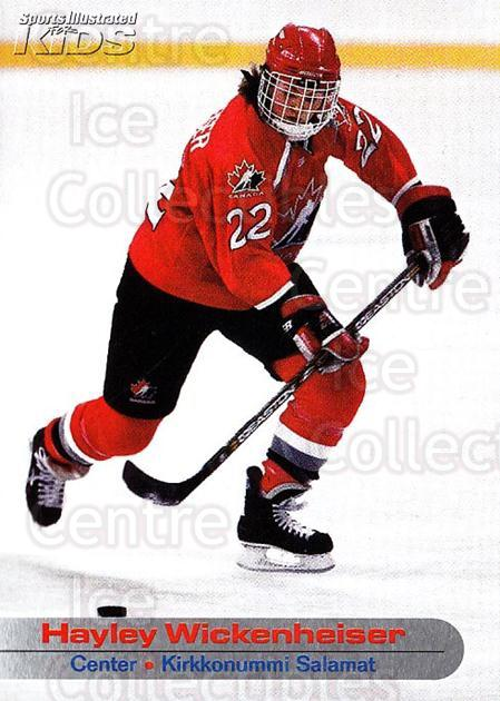 2001-05 Sports Illustrated for Kids #301 Hayley Wickenheiser<br/>1 In Stock - $2.00 each - <a href=https://centericecollectibles.foxycart.com/cart?name=2001-05%20Sports%20Illustrated%20for%20Kids%20%23301%20Hayley%20Wickenhe...&quantity_max=1&price=$2.00&code=703355 class=foxycart> Buy it now! </a>